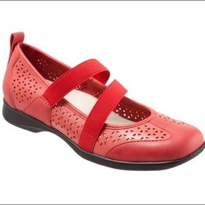 Red Josie Trotters Shoes